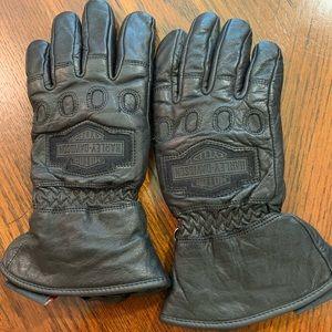 Women's Harley Davidson Leather Winter Gloves